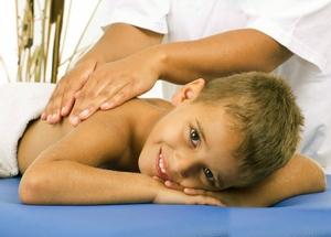 Лечебный массаж детям